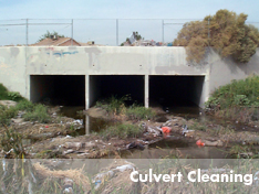 United Storm Water performs culvert cleaning services
