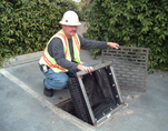 Drop Inlet DrainPac™ installation