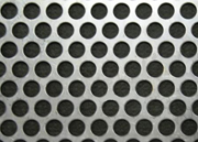 Stainless steel perforated material for the Wing-Gate™ automatic retractable screen cover