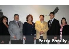 The Perry family has owned and operated the minor business enterprise United Pumping Service since 1970