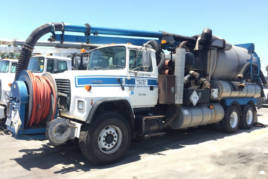 United Storm Water Heavy Industrial Vactor Jetter Truck