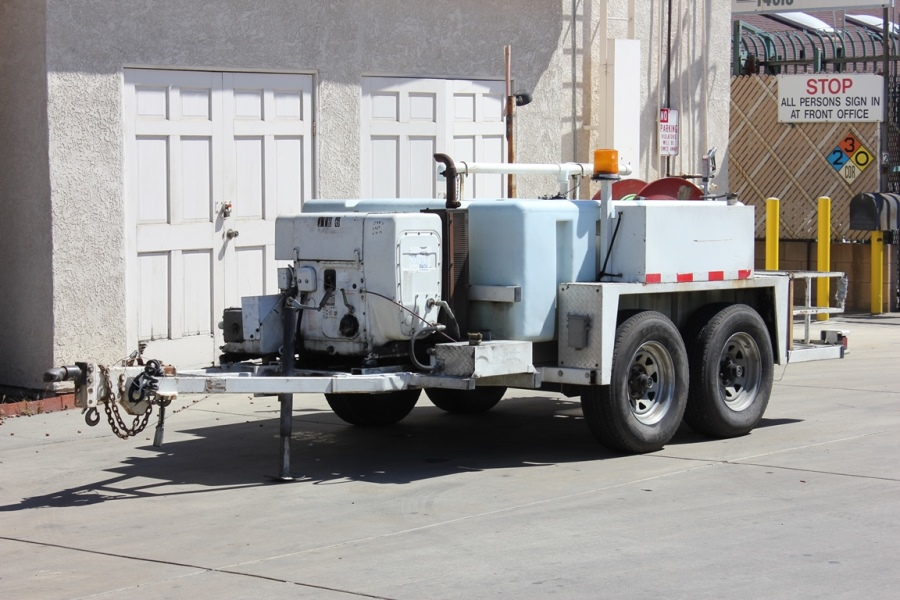 United Storm Water Portable Jetter Trailer