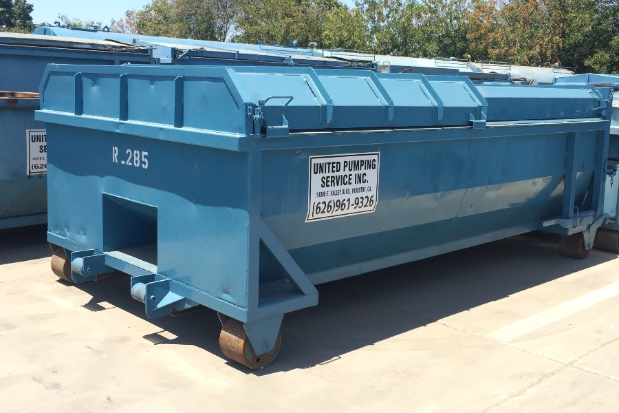 United Storm Water Roll-Off & Dewatering Bins