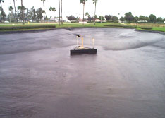 United Storm Water installs a seamless Wet Weld Liner on a job site